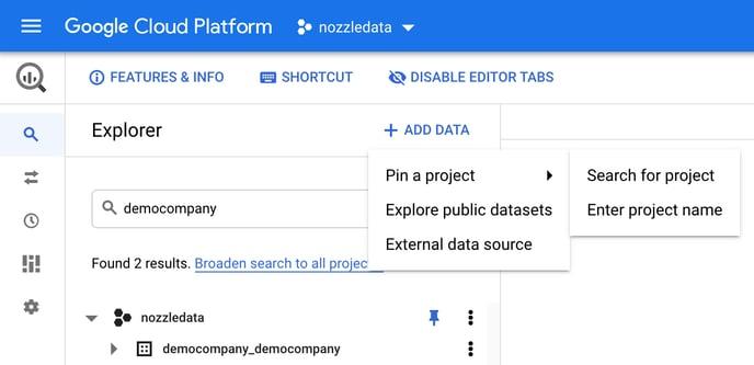 BigQuery Customer Dataset