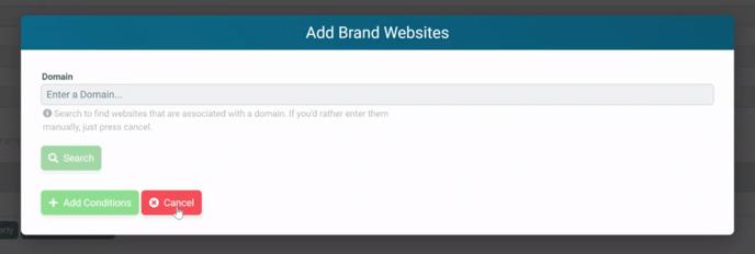 Brand YouTube - skip domain